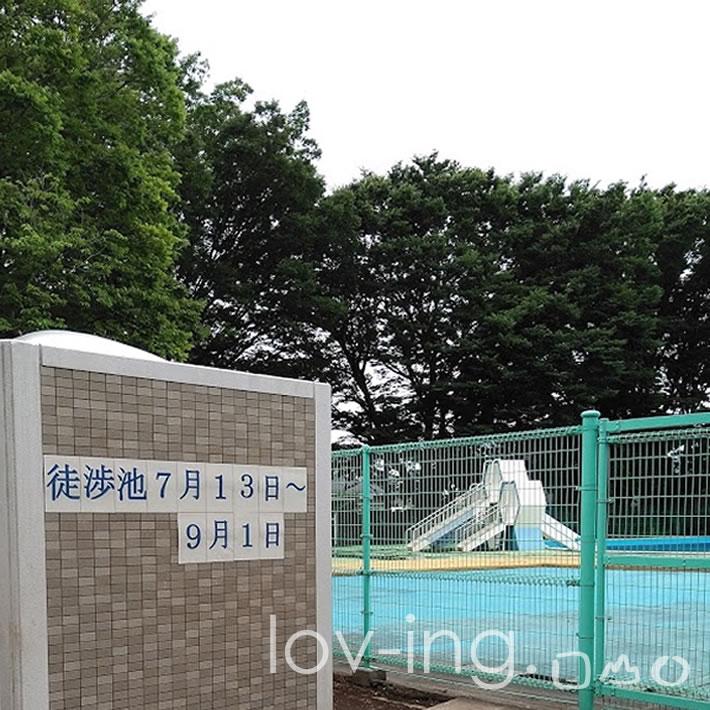 薬円台公園 徒渉池